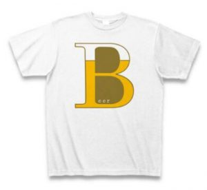 BEER TシャツBR